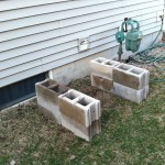 Blocks for Flow Through Worm Bin
